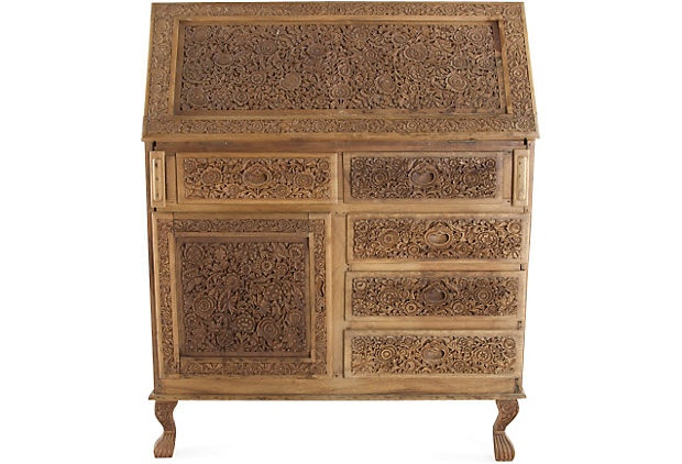 hand carved desk from India.jpg