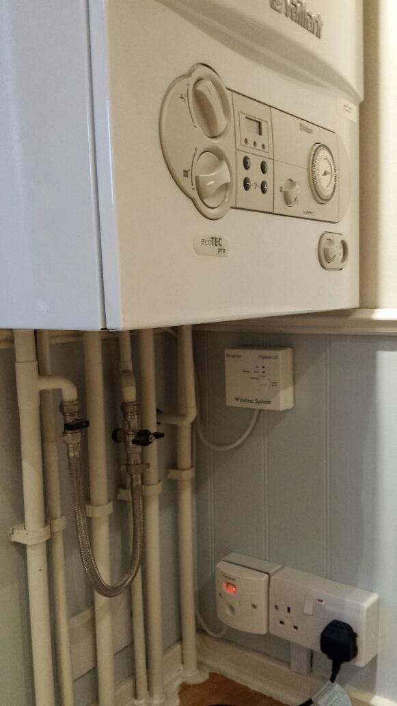 boiler digistat and powerbreaker