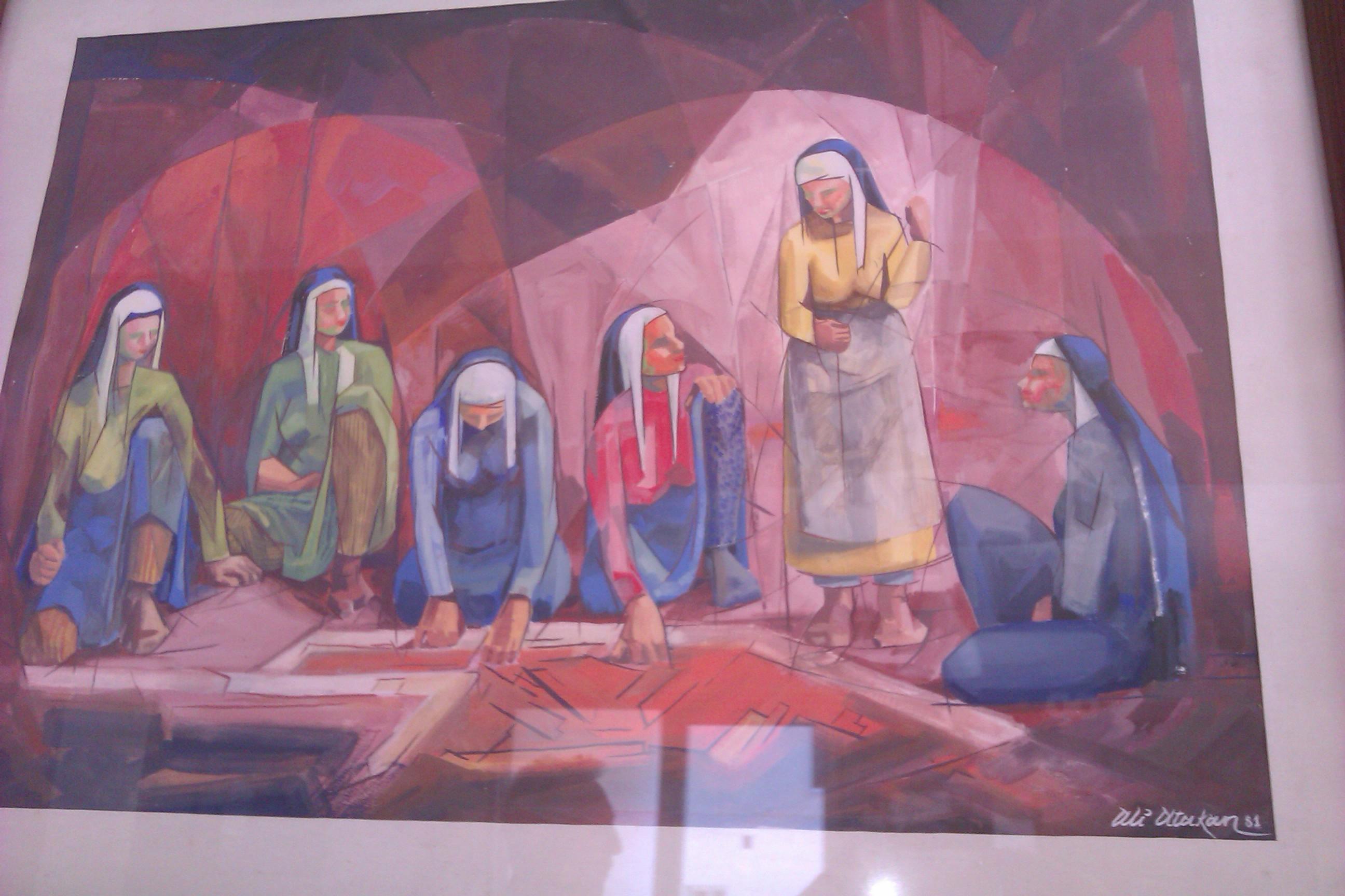 painting by Ali Atakan