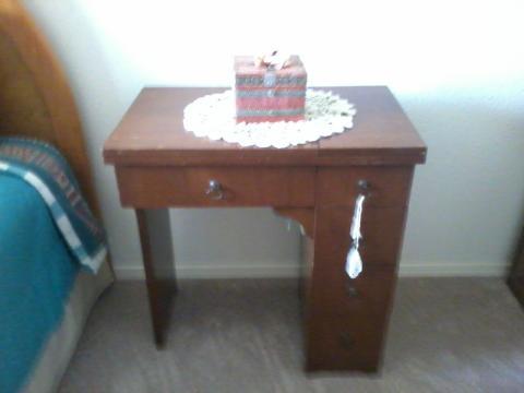 1959 Four Drawer Necchi cabinet