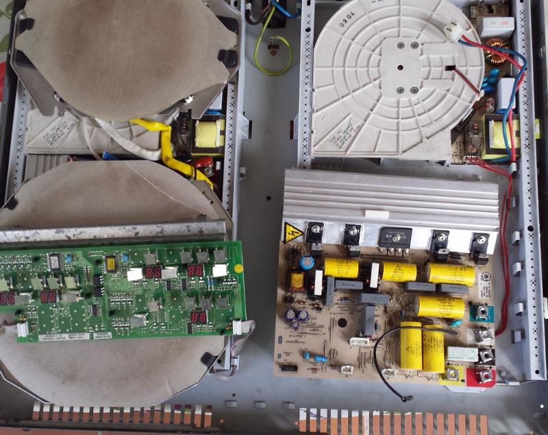 interior encimera FAGOR 4IFT-30S