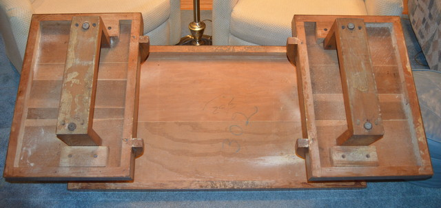 Coffee table- bottom view entire table.JPG