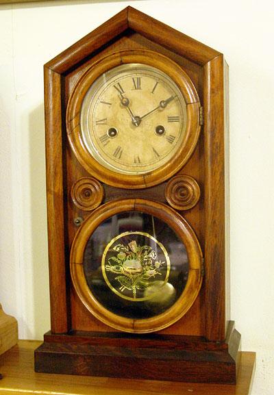 Ingraham 30 hour Doric clock circa 1870.jpg